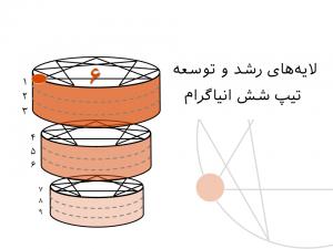 لایههای رشد و توسعه تیپ شش انیاگرام